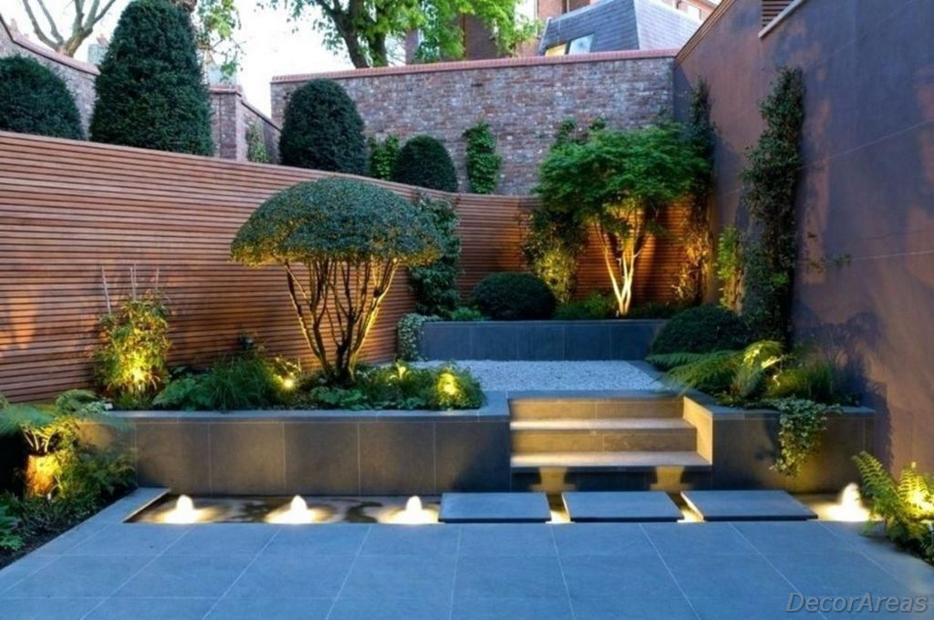 Ideas of Modern Garden Lighting