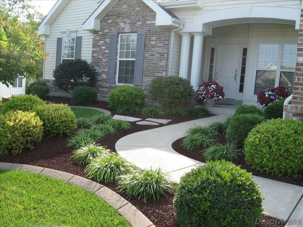 Nice Front Yard Landscaping