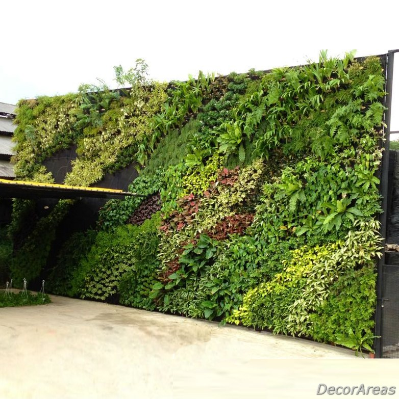 Outdoor Fake Plant Wall