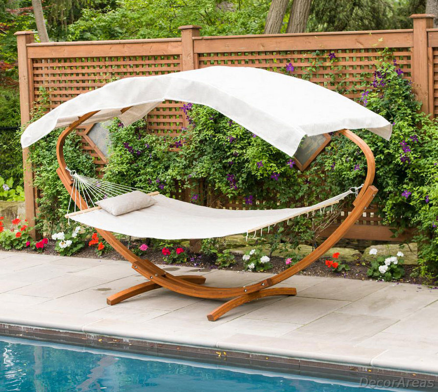 Outdoor Hammock With Stand