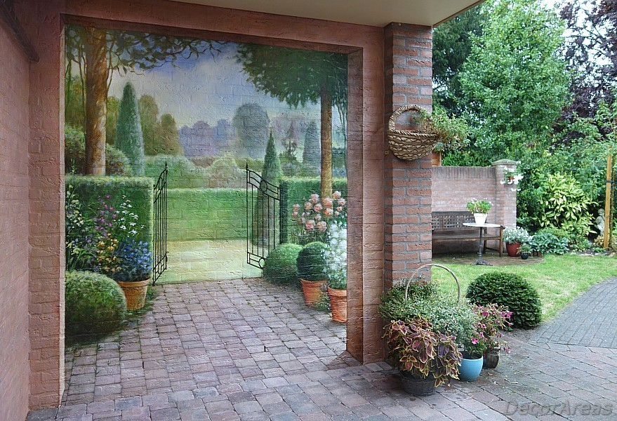 Painting on the Garden Walls