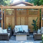 Pergola To Block Neighbors