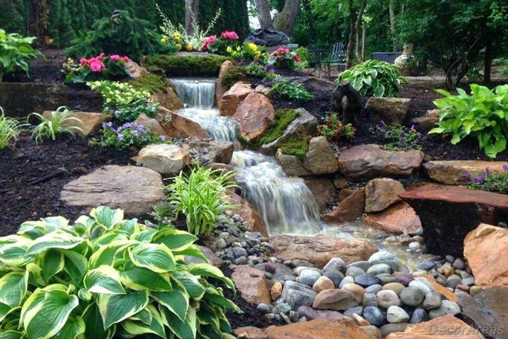 Pondless Waterfall ideas For Backyards