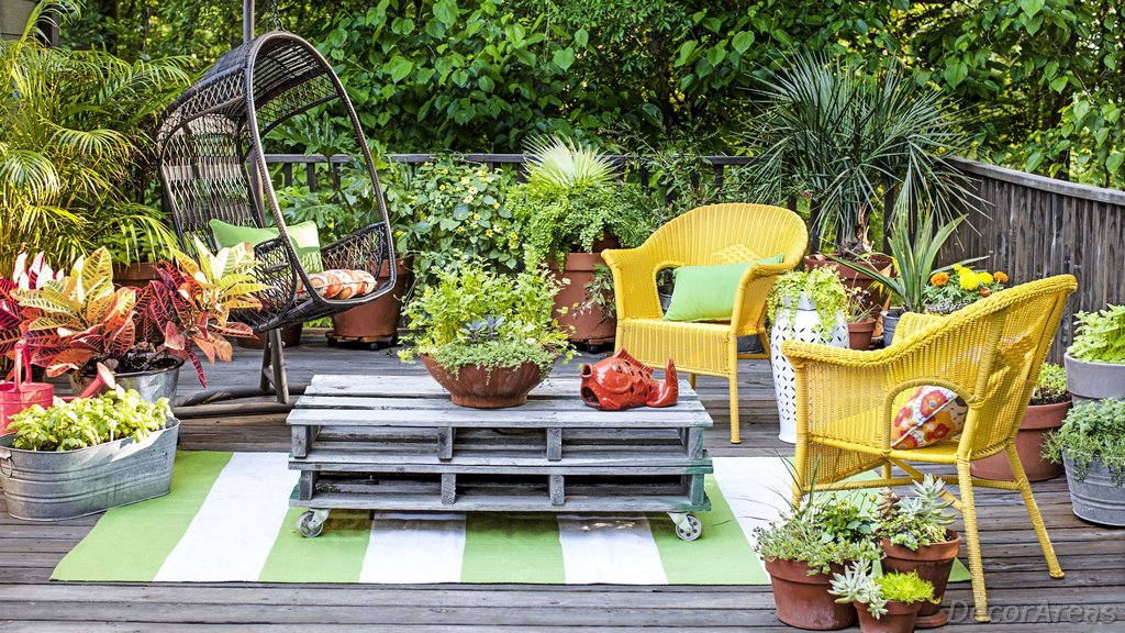A Modern And Cute Garden Design
