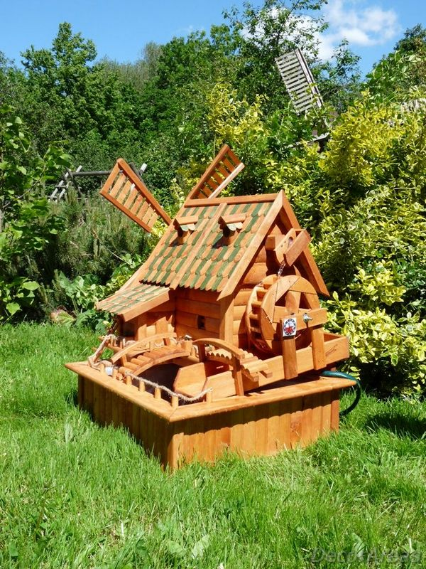 Small Water Mill For Garden