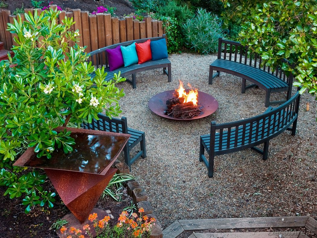 Sophisticated Fire Pit