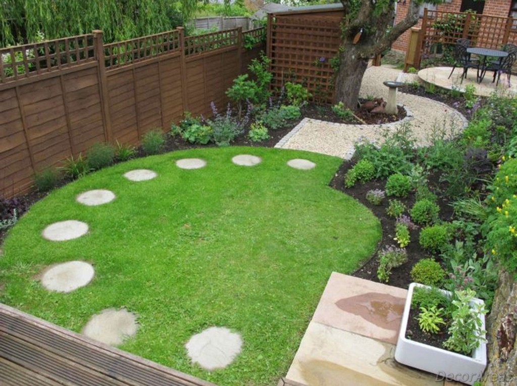 Synthetic Grass Garden Floor