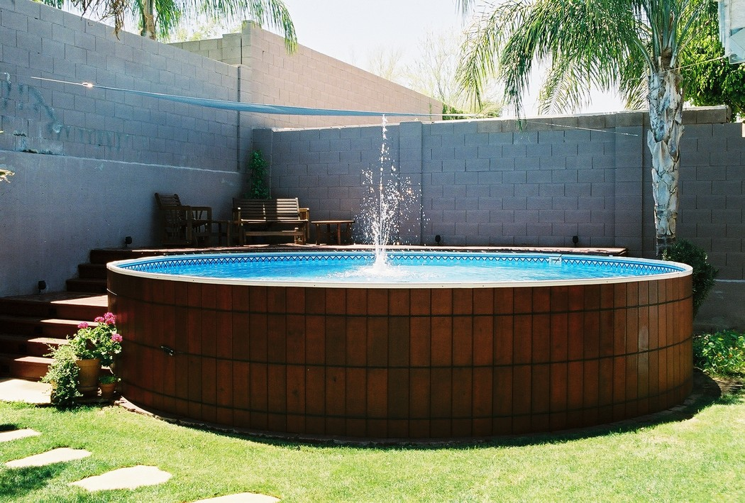 The Most Beautiful Above Ground Round Pools
