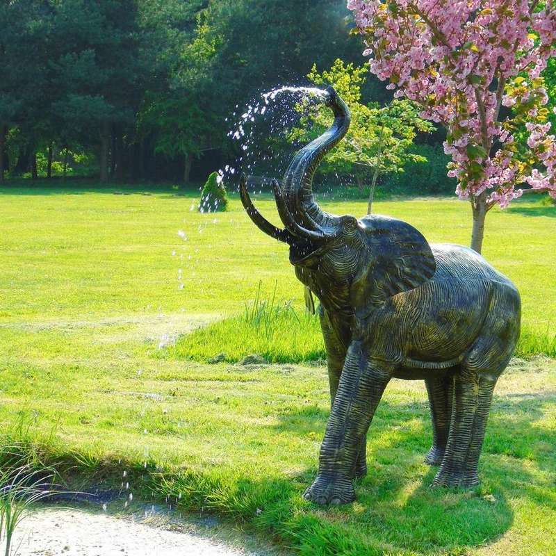 The Most Beautiful Elephant Statue