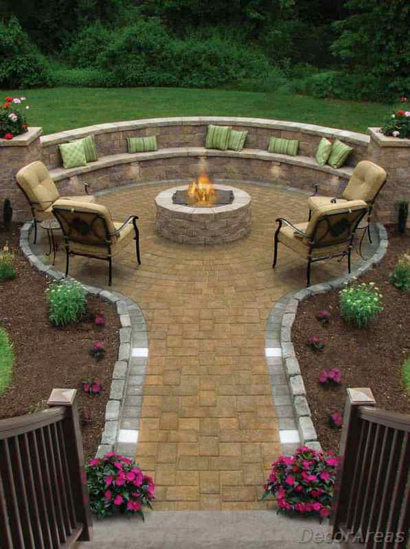 The Most Beautiful Fire Pit for Backyard
