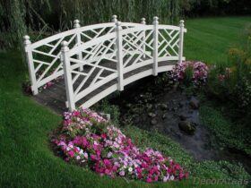White Bridge Ideas for the Garden