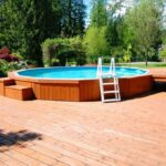 Wooden Above Ground Big Pool