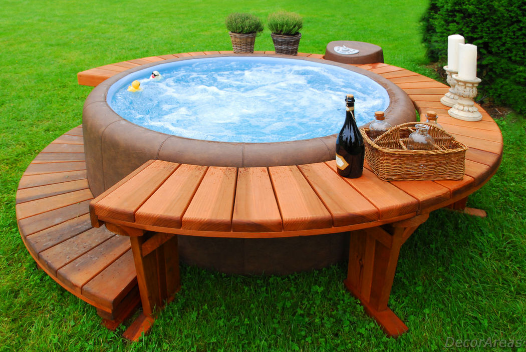 Wooden Stock Tank Pool