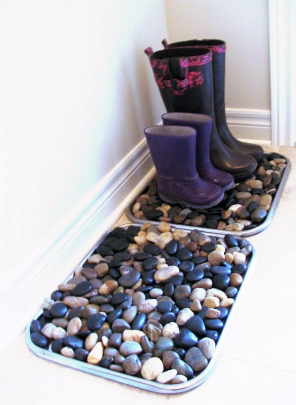 Ideas to Use Stones and Pebbles Indoors