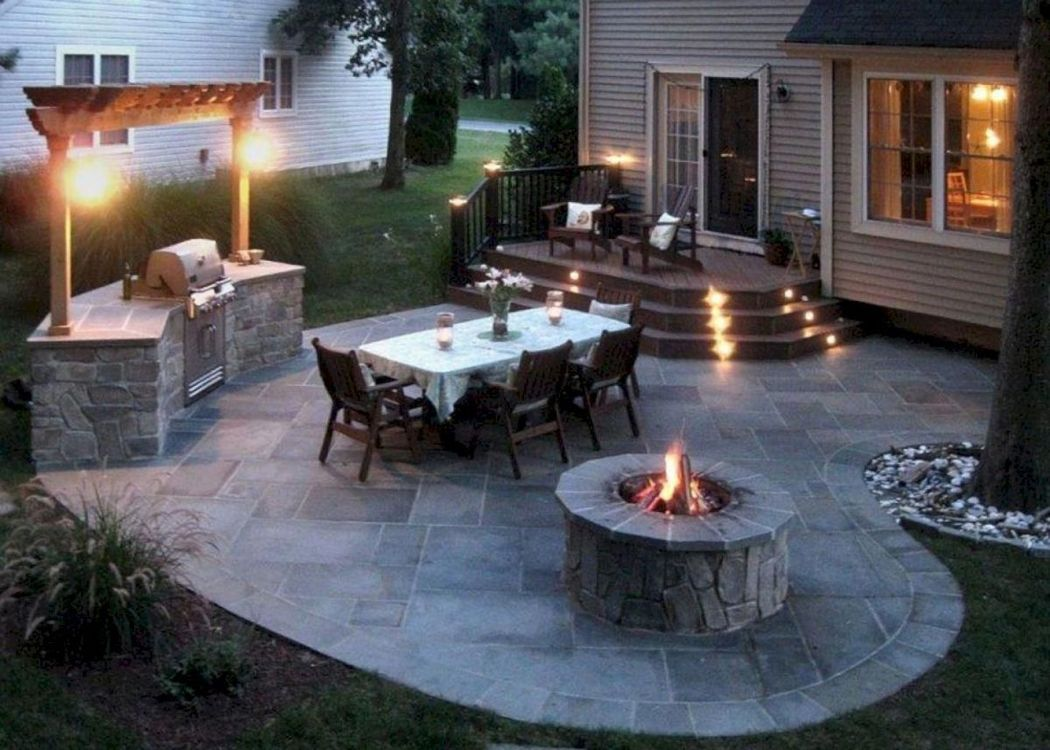 Fire Pit Model for Patio
