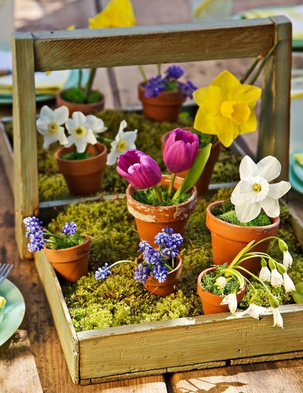Spring Flower Decoration Ideas