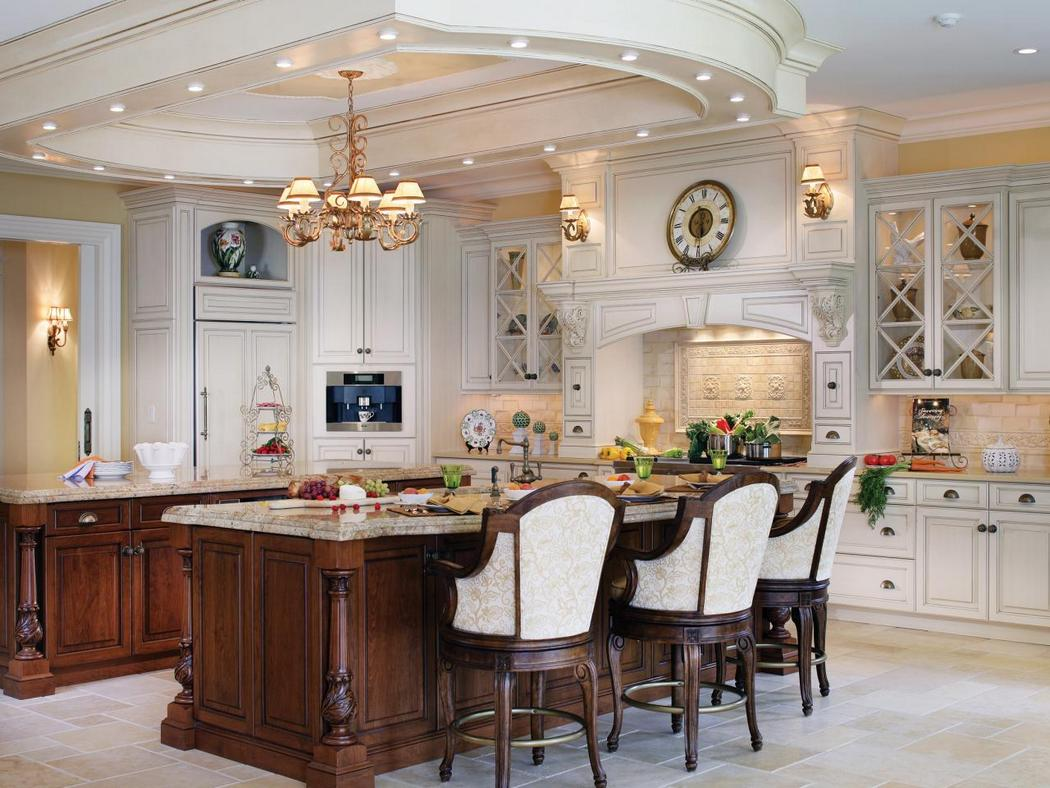 Antique Kitchen Design with Great Looks