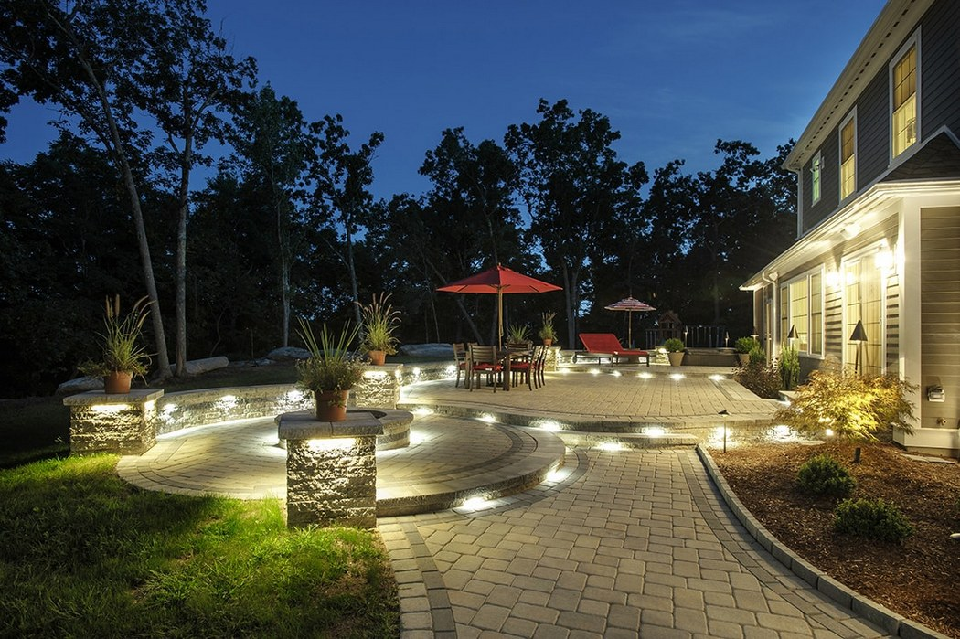Backyard in Ground Lighting