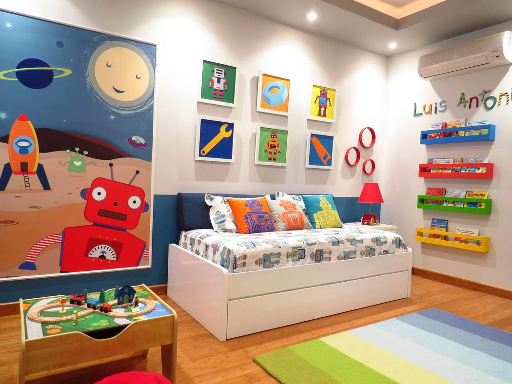 Colorful Boy's Room