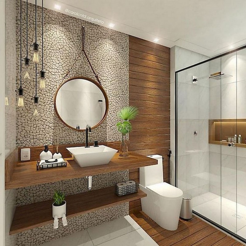 Cool Designs in Small Bathroom