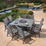 Fire Pit Dining Table Sets