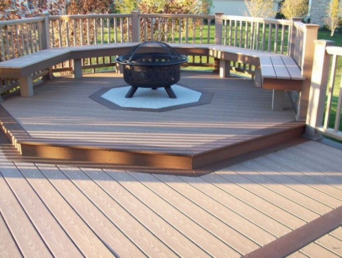 Fire Pit In Deck