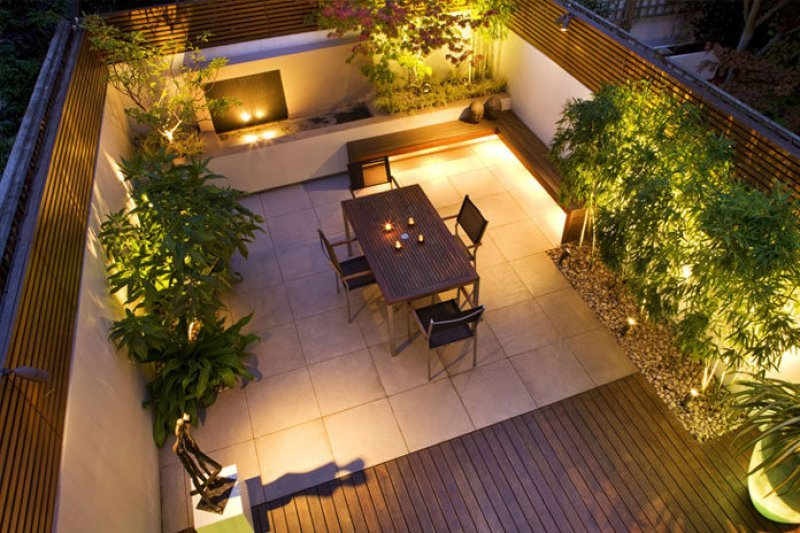 Great Lighting for the Entire Patio