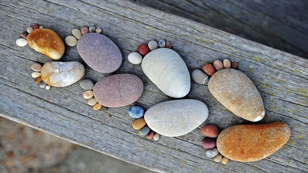 Ideas to Use Stones and Pebbles Outdoors