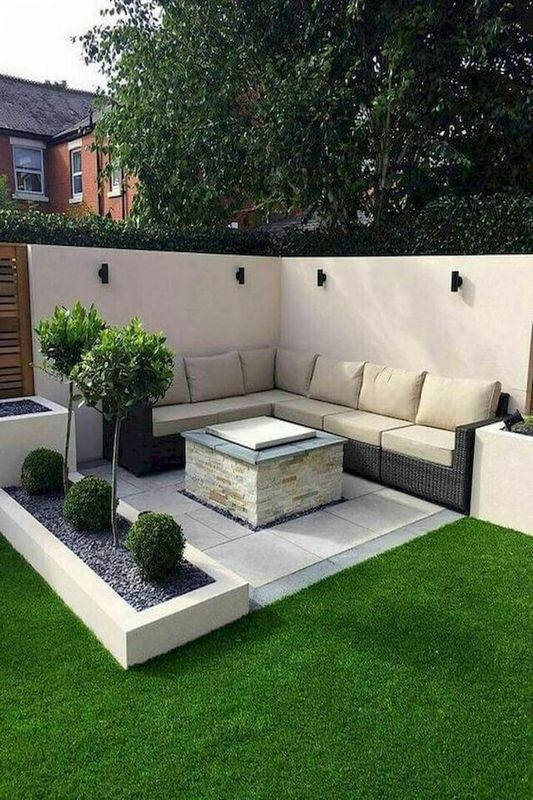 Patio Small Backyard Landscaping Ideas