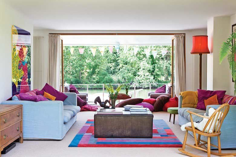 Simple Traditional Indian Living Room Design