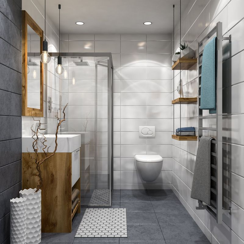 Small And Fascinating Bathroom Decoration