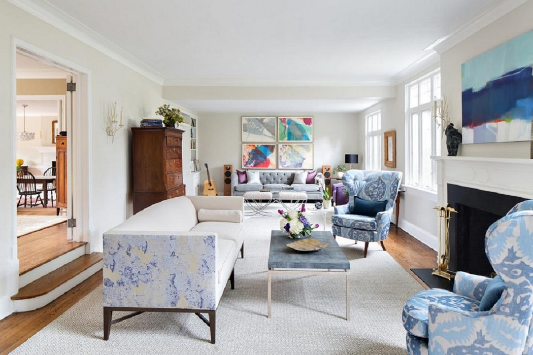 The Magic of Blue in the Living Room