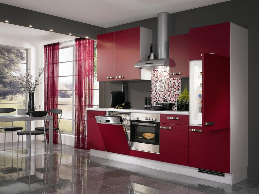 The Perfect Red Kitchen