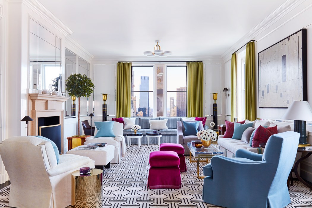 Vivid Colors for Living Room