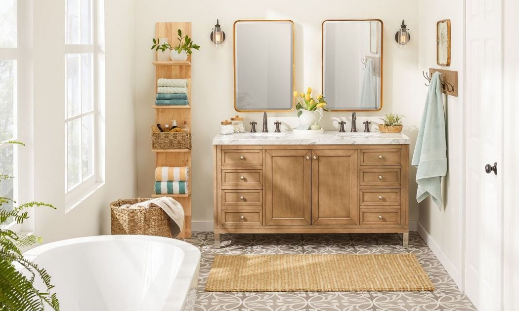 Ways To Decorate A Small Bathroom